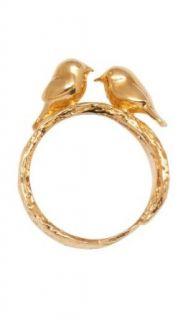 Alex Monroe Love Birds Ring 54 Bekleidung
