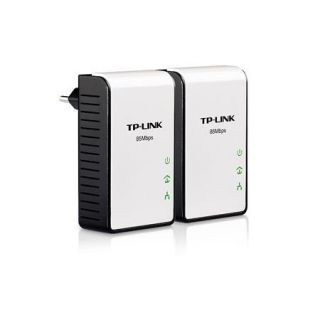 TP Link 85 Mbit Powerline Adapter Starter Kit (2 Adapter) TL PA111