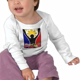 proud to be pinoy flag bb tee shirts