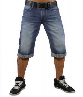 MONOPOL Jeans Shorts BS102 candle blue W30 40 MOD Sommer blau