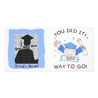 Boy Graduate Kindergarten / Preschool Photo Card