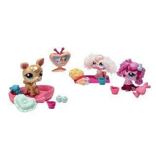 Littlest Pet Shop 38046   Knuddeltierchen Spielset Pyjamaparty inkl. 3