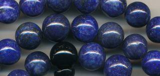 Mala Lapis Pearl necklace Lapislazuli Afghanistan 116b