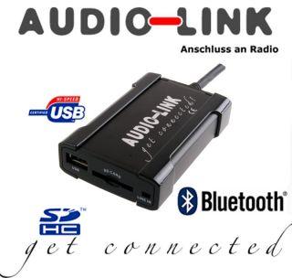 Audio Link USB SD AUX BMW mit runden Pins Plug Play Radio Adapter