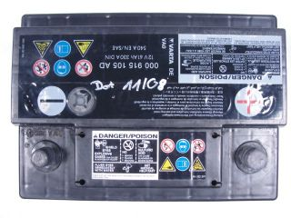 VW Jetta Golf Batterie 61 Ah 330 A 000 915 105 AD