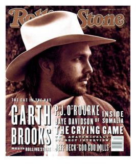 Garth Brooks, Rolling Stone no. 653, April 1993 Photographic Print by Kurt Markus