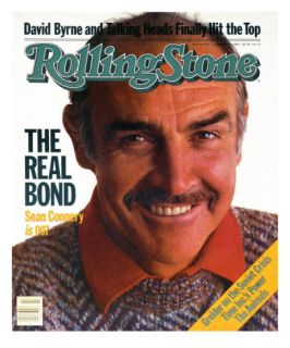 Sean Connery, Rolling Stone no. 407, October 1983 Photographic Print by David Montgomery