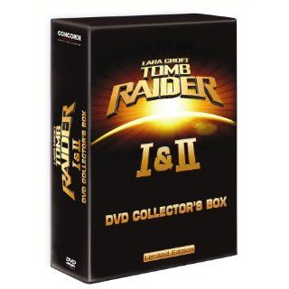 Lara CroftTomb Raider I & II Collectors Box, 6 DVDs Limited Edition