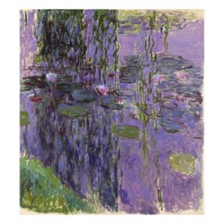 Nympheas, 1916 19 (Oil on Canvas) Giclee Print by Claude Monet