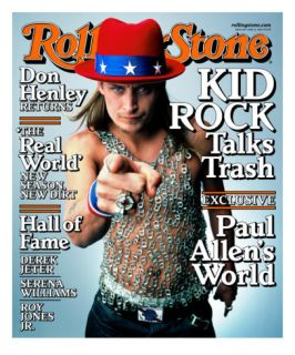 Kid Rock, Rolling Stone no. 843, June 2000 Photographic Print by Mark Seliger