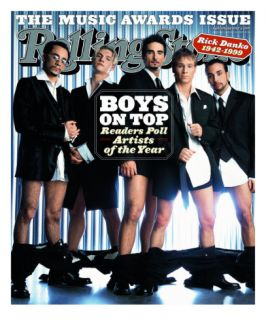 Backstreet Boys, Rolling Stone no. 832, January 2000 Photographic Print by Mark Seliger