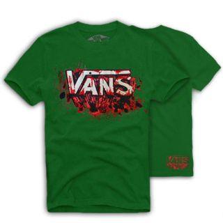 VANS Original Skate T Shirt SPLATTER Skateboard, Gr. S, M, L versch