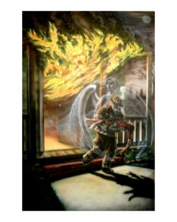 Guardian Angel Giclee Print by Jim Murphy