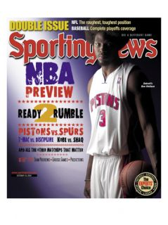 Detroit Pistons Ben Wallace   October 18, 2004 Posters