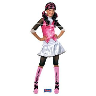 Monster High Gr 122 128 Draculaura neu Karneval Kinder Fasching Gr M