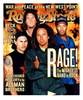 Rage Against the Machine, Rolling Stone no. 826, November 1999 Photographic Print by Martin Schoeller