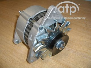NEW CANAL BOAT ALTERNATOR HIGH OUTPUT 75 AMP A127 TYPE DUAL