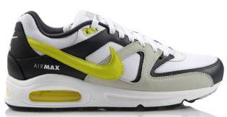 Nike Air Max Command Weiss/Grau/Schwarz/Gelb Neu Größen wählbar