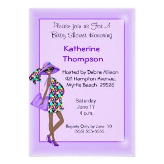 African American Baby Shower Invitations, 400+ African American Baby