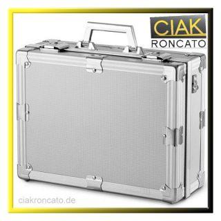 CIAK RONCATO (M) Alu Fotokoffer Kamera Geräte Zubehör Koffer