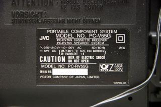 Ghettoblaster Boombox JVC PC V55