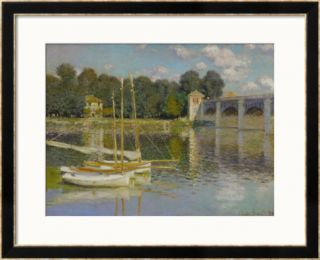 Bridge at Argenteuil Framed Giclee Print by Claude Monet