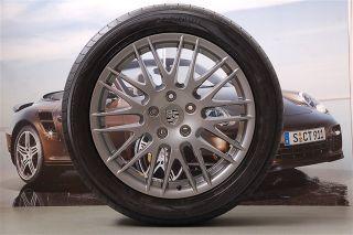 NEU & ORIG. Porsche Cayenne 958 20 Zoll Sommerräder Satz RS SPYDER