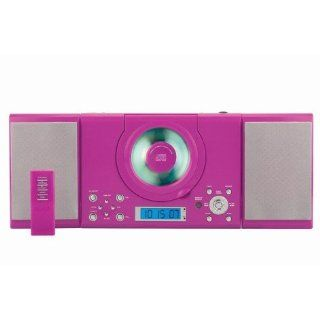 Musikcenter Stereoanlage CD Player Denver MC 5000 pink