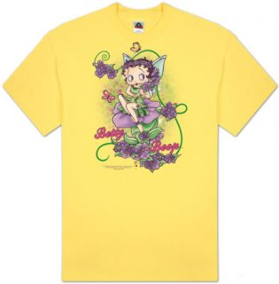 Betty Boop   Flower Vine Fairy T shirts