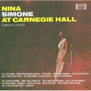 Nina Simone at Carnegie Hall Musik