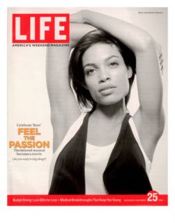 Portrait of Actress Rosario Dawson, November 25, 2005 Photographic Print by Karina Taira