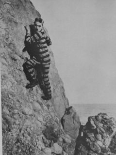 Charlie Chaplin as an Escaped Prisoner in The Adventurer Premium Photographic Print