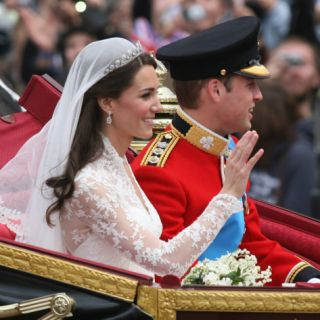 The Royal Wedding of Prince William and Kate Middleton in London, Friday April 29th, 2011 Photographic Print