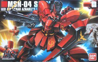Bandai HGUC 088 GUNDAM MSN 04 SAZABI 1/144 scale kit