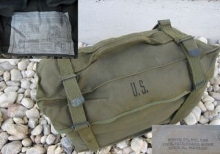 US Army Kampftasche M1945 Original Combat Pack Korea