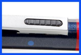 Rotring Trio Pen (Kulli blau u. rot, Feinm. 0,7 mm) Metal,Blaumetalik