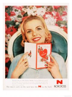 Cards Valentines Day Love, USA, 1950 Posters