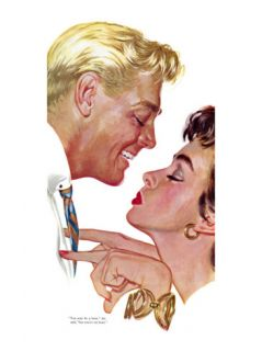 So Im a Bum   Saturday Evening Post Leading Ladies, March 31, 1956 pg.32 Giclee Print by Bob Hilbert
