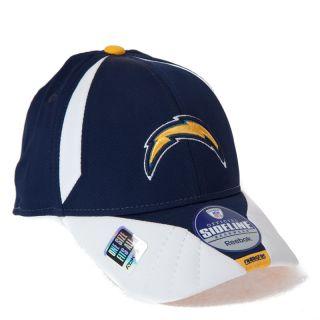 NFL San Diego Chargers Sideline Cap Kappe Reebok American Football neu