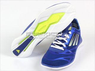 Adidas Adizero Supreme Blue/White/Gold Training Sprint Web Womens 2012