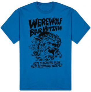 30 Rock   Werwolf Bar Mitzvah Shirt