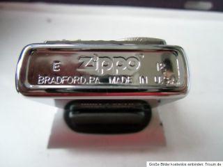 ZIPPO FEUERZEUG 80er ANNIVERSARY LIMITED EDITION 142/1000 EMBLEM NEU