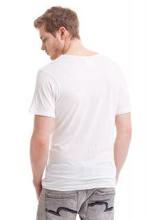 Eleven Paris Mustache Herren T Shirt Kate Moss  Weiß  NEU
