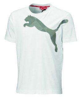 PUMA Herren T Shirt Large Logo Cat Graphic Tee Sport