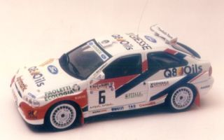 FORD ESCORT KIT CAR Q8   RALLY DEL SALENTO 96   RACING43 1/43 RK 144
