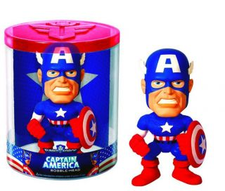 CAPTAIN AMERICA Original Bobble Head Wackelkopf 15cm