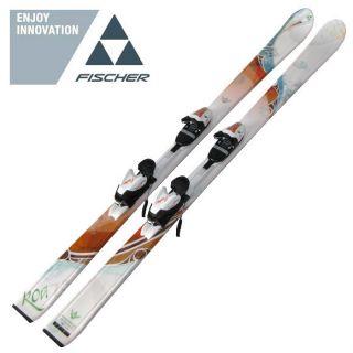 Neu Fischer Damen Ski Alpinski Alpin Ski Allround Carver Koa 73 155cm