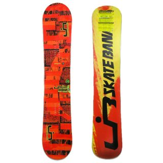 LIB TECH SKATE BANANA BTX 156cm Wide FREESTYLE ROCKER SNOWBOARD