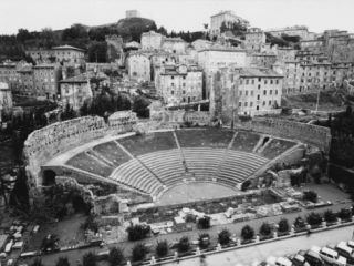 Roman Theater in Trieste Photographic Print by A. Villani