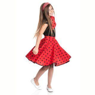 Kostümplanet® Rockn Roll Rock rot für Kinder Rock n Roll Rock